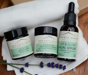 Organic House Glow Facial Gift Box - skin care