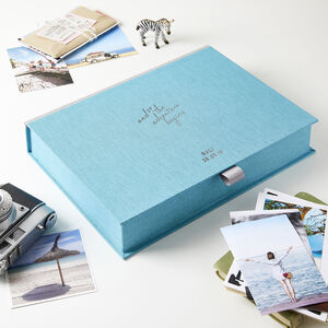 Personalised Adventure Travel Memory Box