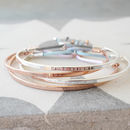 Message Bangle Available In A Choice Of Designs