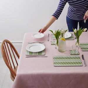 Pea Pod Placemat Set Of Four - tableware