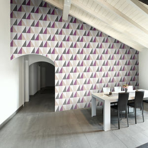 Tiled Diamonds Geometric Wallpaper - home accessories