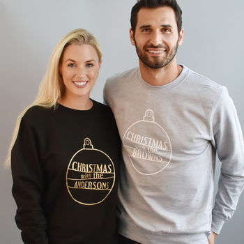 'Christmas With The…' Unisex Sweatshirt Jumper