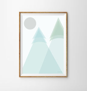 Mountain Children's Print - new in home