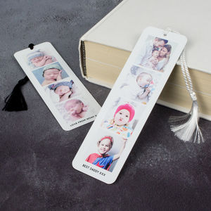 Photo Booth Book Mark - personalised