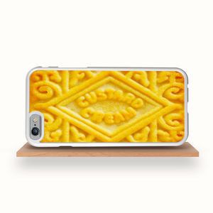 Custard Cream Biscuit IPhone Case - technology accessories