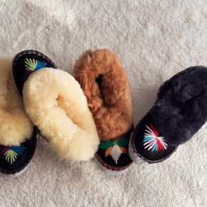 Sheepskin Mocassin Sheepers - women's fashion