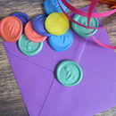 Self Adhesive Birthday Wax Seal Stickers