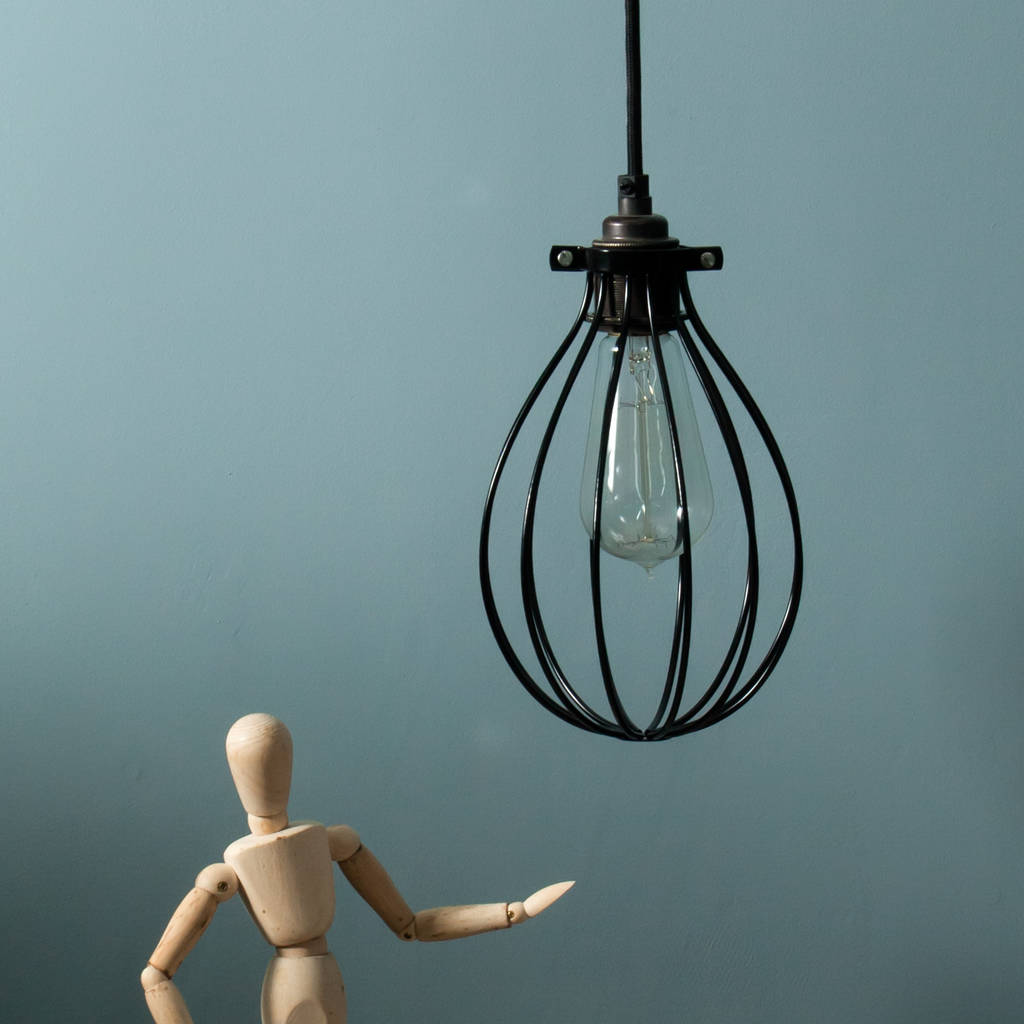 Industrial balloon light cage shade by dowsing reynolds industrial balloon light cage shade aloadofball Images