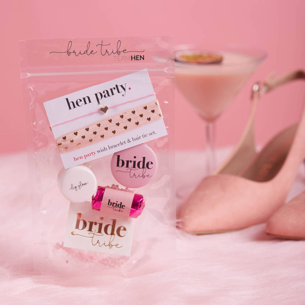 hen party goody bag fillers | hen party favours by team hen ...