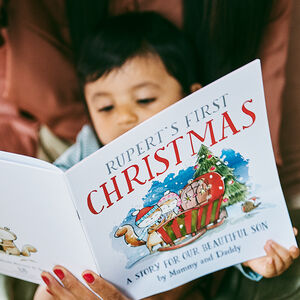 Baby's First Christmas Personalised Book