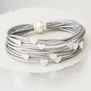 Harper Personalised Heart Bracelet - gifts for her