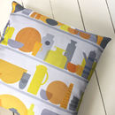Kitchen Cupboard Fabric Cushion