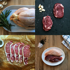 Gourmet Meat Box - meal kits