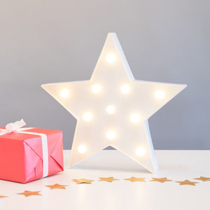 Vegas Metal LED Star Light - children's lighting