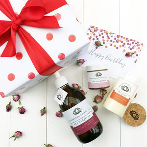 Build Your Own Birthday Pamper Gift - bath & body