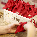 Personalised Countdown To Christmas Advent Box