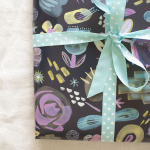 Mother's Day Floral Wrapping Paper