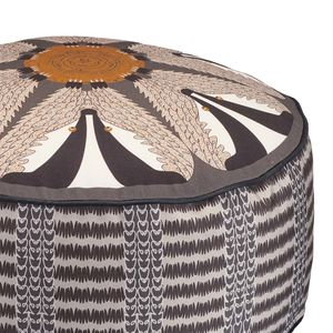 Night Badger Patterned Pouffe Beanbag - furniture