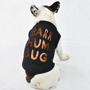 'Bark Humbug' Christmas Pet Vest - gifts for pets