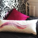 Supersized Tropical Swirl Cushion