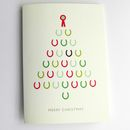 Horseshoe Christmas Card