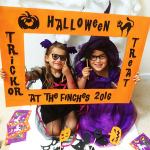 Halloween Personalised Photo Booth And Props