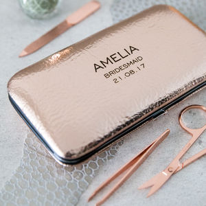 'Bridesmaid' Ladies Manicure Set