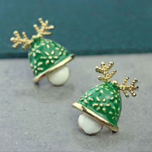 Christmas Bell Earrings - earrings