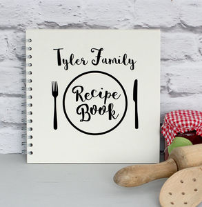 Personalised Recipe Book - cookbooks & stands