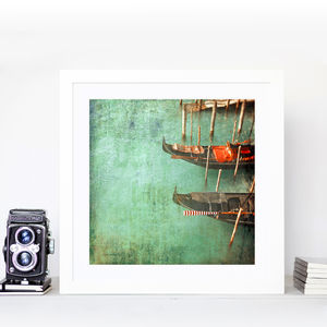 Venice In Red - new in prints & art