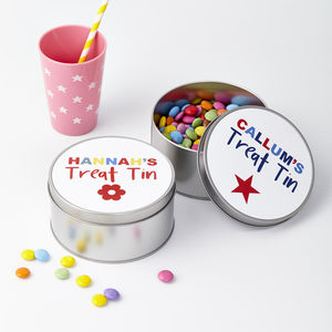 Child's Personalised Sweet Tin