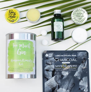 'Too Much Gin' Beauty Hangover Pamper Kit - bath & body