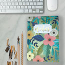 Tropical Flora Gold Foiled Notebook