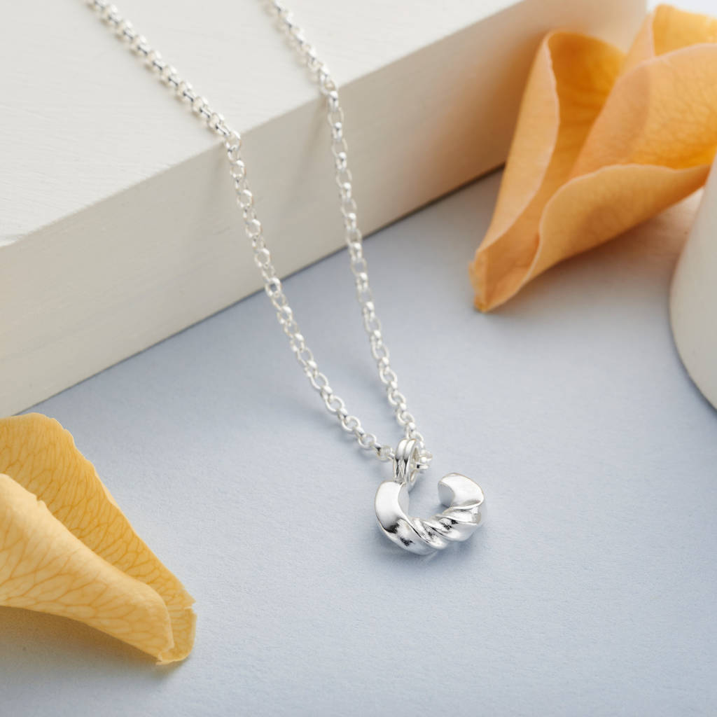 Lucky Horseshoe Necklace With A Twist
