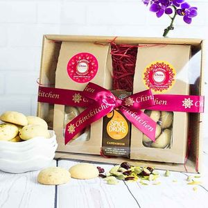 Indian Shortbread And Spice Drops Gift Set - cakes & sweet treats