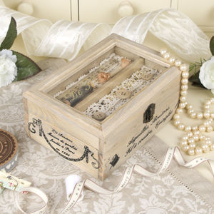 Personalised French Couture Sewing Box