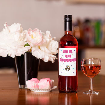 'Will You Be My Bridesmaid?' Rose Wine