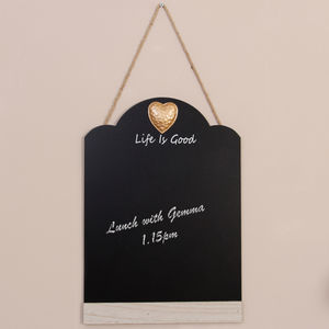 Life Is Good Personalised Chalkboard - kitchen