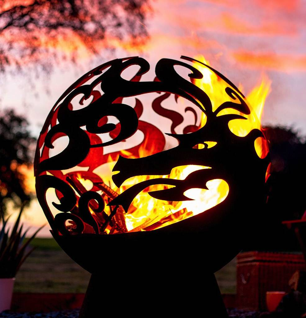 Dragon Fire Globe