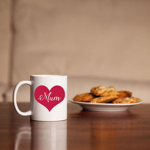 Love Heart 'Mum' Mug
