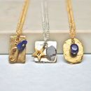 Personalised September Birthstone Necklace
