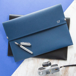 Leather Document Folder - gifts from adult children