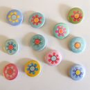 Flower Badge Party Pack