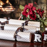 Raisthorpe's Silver Frost Tipple Crackers - christmas decorations