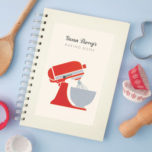 Personalised Mixer Cook's Notebook - personalised