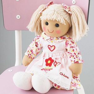 Personalised Rag Doll:Gift For A Child Age 3+