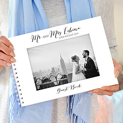 wedding album guest book