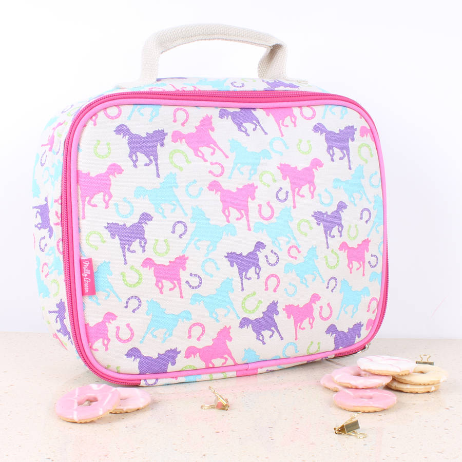 Playful Ponies Lunch Bag