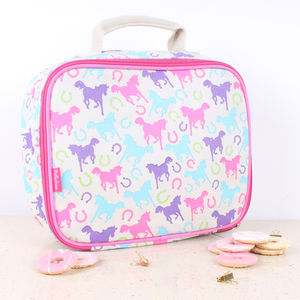 Playful Ponies Lunch Bag - lunch boxes & bags