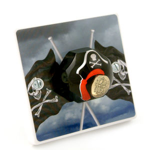Pirate Bedroom Light Switch - lighting accessories